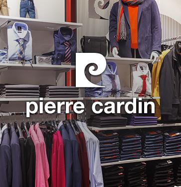 Сеть магазинов одежды Pierre Cardin