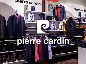 Открыть магазин одежды Pierre Cardin