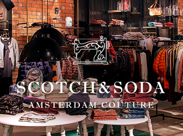 Открыть магазин одежды Scotch and Soda